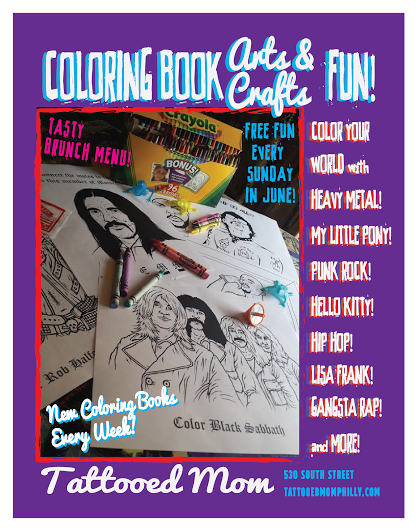 FREE Sunday Arts & Crafts: Coloring Book! // June 30th ...