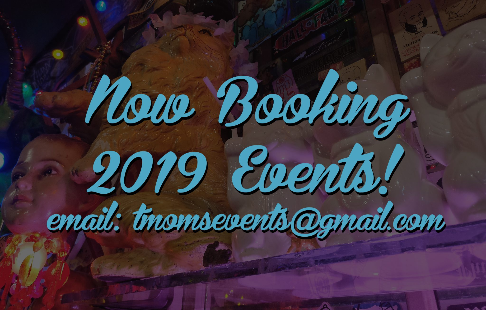 2097f0ad Now Booking 2019 Events at Tattooed Mom!